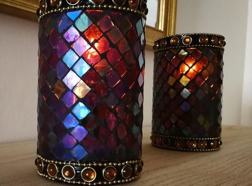 Lámpara de mesa decoración restaurantes | mosaic morocco
