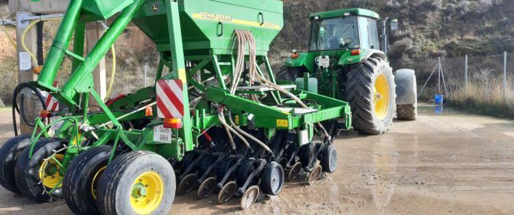Venta de sembradora de siembra directa john deere 750a en