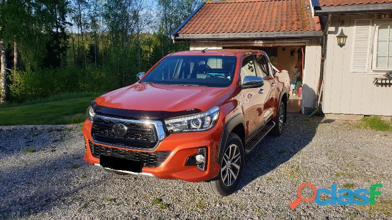 Toyota Hilux 4x4 Año 2018, Automático, diésel, 19.301 Km