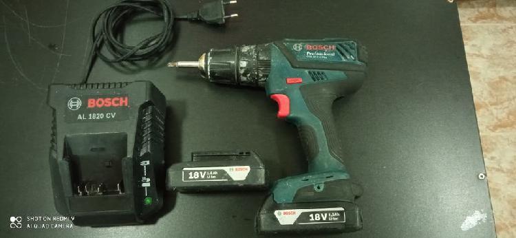 Bosch taladro atornillador a batería 18 v