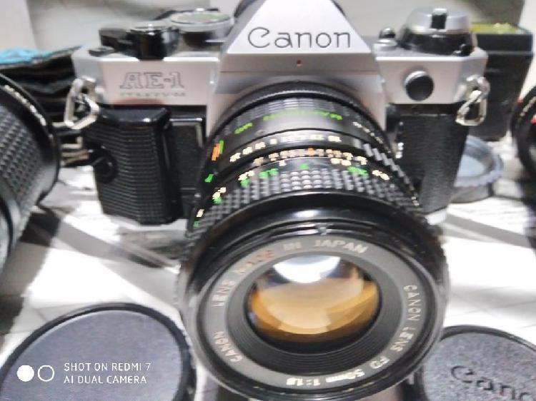 Canon ae-1 pro equipo completo