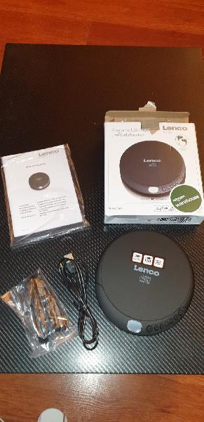 Cd (portable cd player, negro