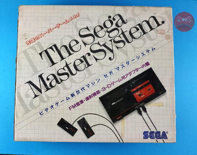 Consola sega master system japonesa