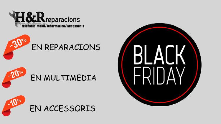 Descuentos de black friday