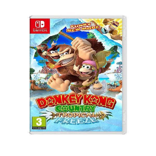 Donkey Kong Country: Tropical Freeze Switch NUEVO