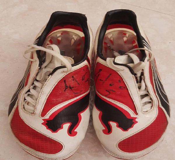 Fc barcelona barça 2007-08 botas usadas match worn boots