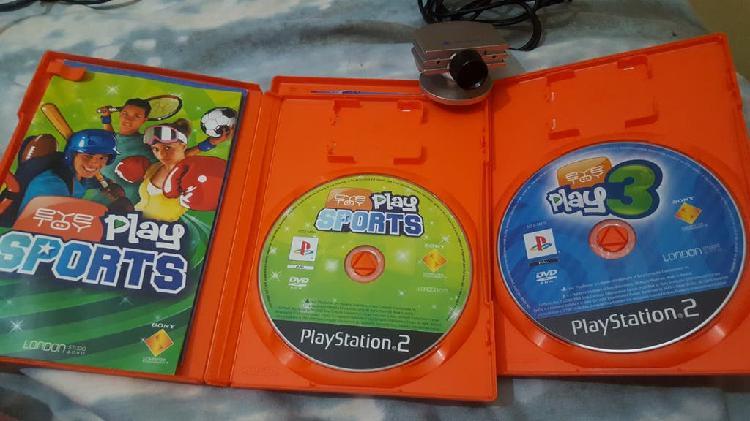 Juegos playstation 2 y cámara