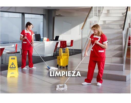 Limpieza de pisos, porteria, locales, oficinas bcn