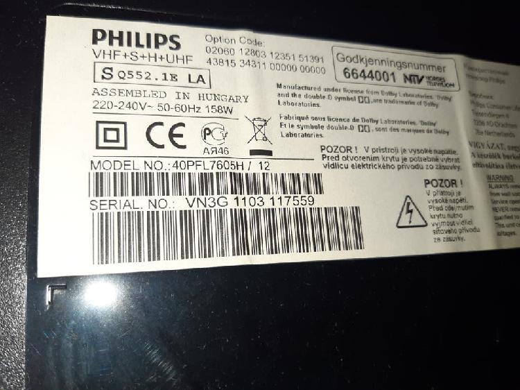 Philips 40 pulgadas led