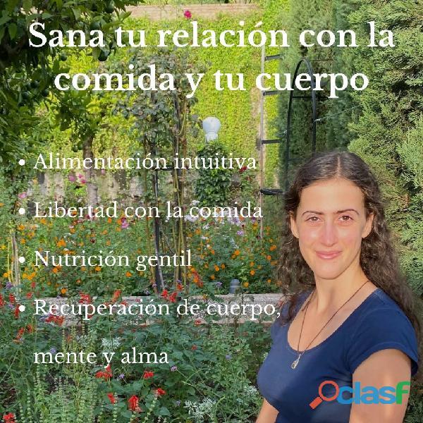 Nutricionista: trastornos alimenticios y alimentación intuitiva