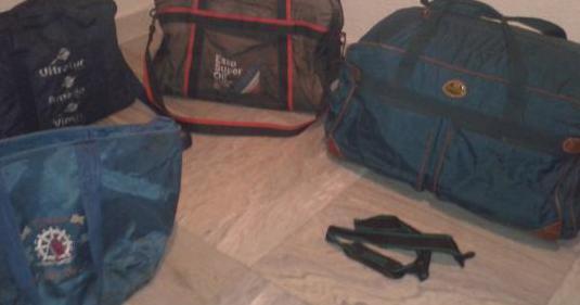 4 bolsas viaje,deportivas,multiusos grandes,varias