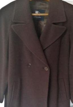 Abrigo burberry - marrón oscuro