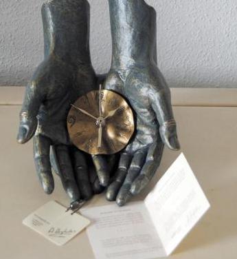 Escultura reloj edición limitada