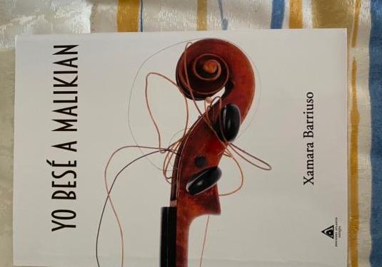 Libro Yo besé a Malikian