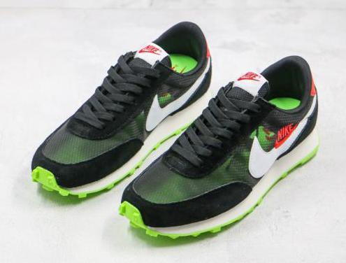 Nike daybreak (black, green)