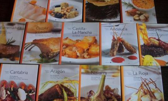 Nuestra cocina (14 volumenes) el mundo