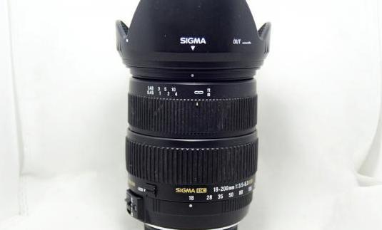 Objetivo sigma 18-200mm dc os hsm nikon lente