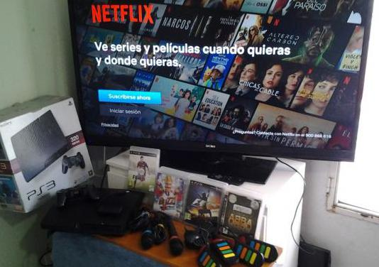 "Ps3 con neflix,tv led 46""3hdmi no negocio"
