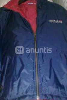 Reebok - chaqueta deporte azul marino -talla s
