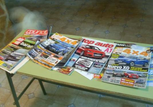 Revistas de coches años 80