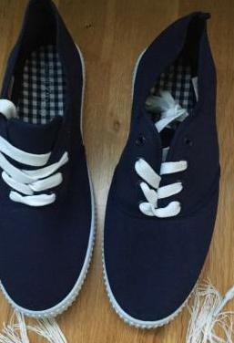 Zapatillas loneta 39