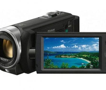 Cámara video sony nueva sin uso