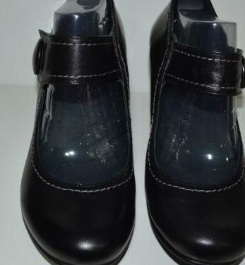 Zapatos negros piel