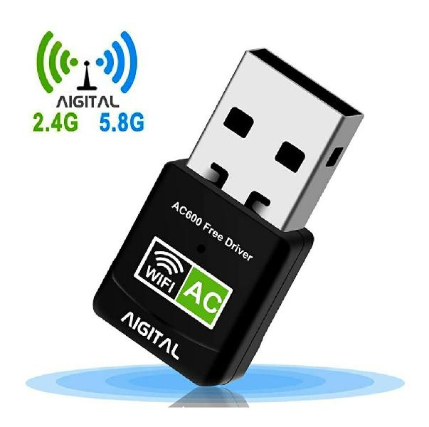 Adaptador wifi usb 2.4g/5ghz