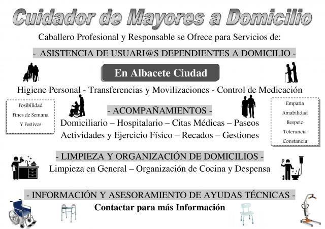 Asistencia de Personas Mayores Dependientes en el Domicilio