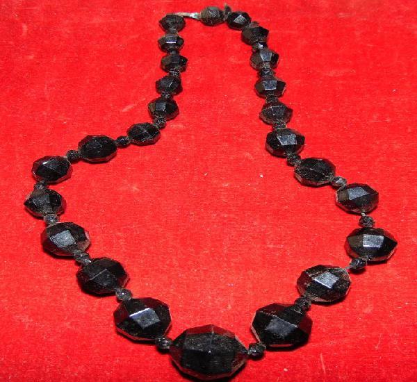 Bonico collar de azabache. 47 cm. w