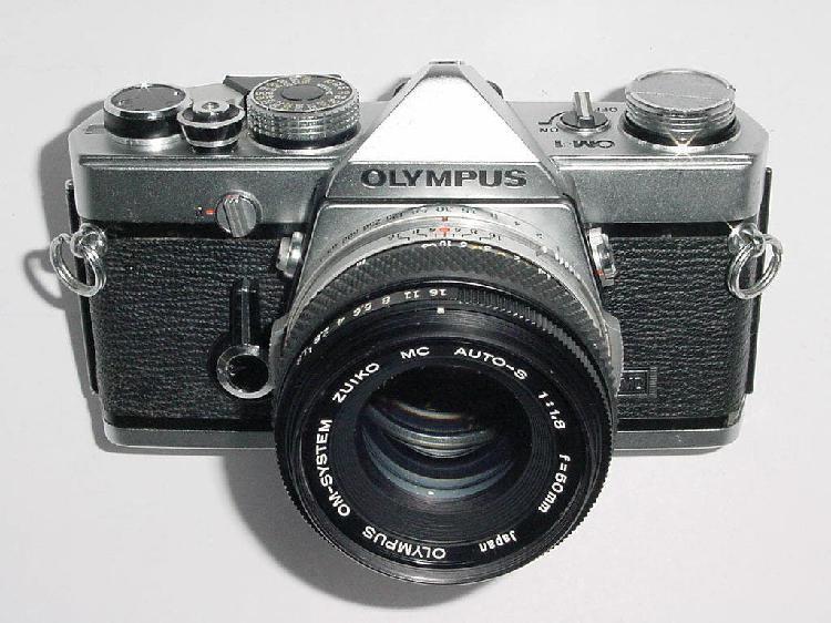 Camara fotografica olympus om1 om 1