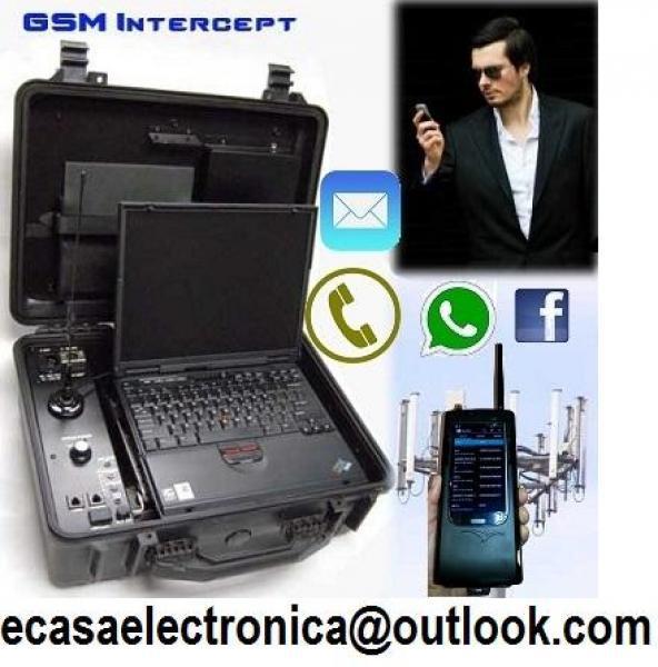 Equipos para intervenir celulares