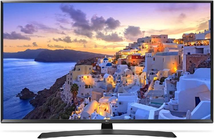 "Lg 43"" 4k hdr gama media-alta lg uj635v smart-tv"