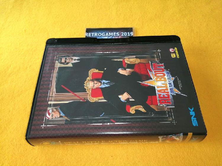 Neo geo snk real bout fatal fury neogeo aes snk