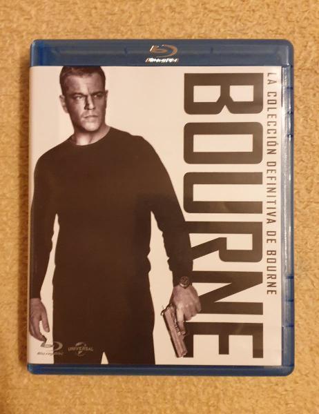 """Pack """"colección definitiva de bourne"""". blu-ray"""