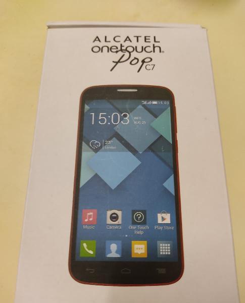 Teléfono alcatel onetouch popc7