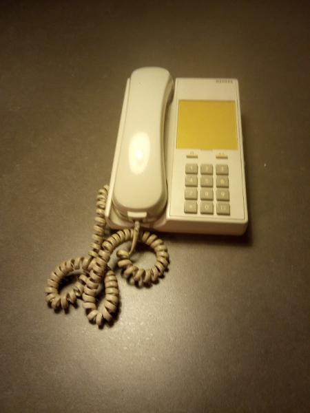 Teléfono fijo siemens set 211