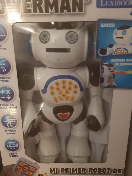 Juego robot niños.