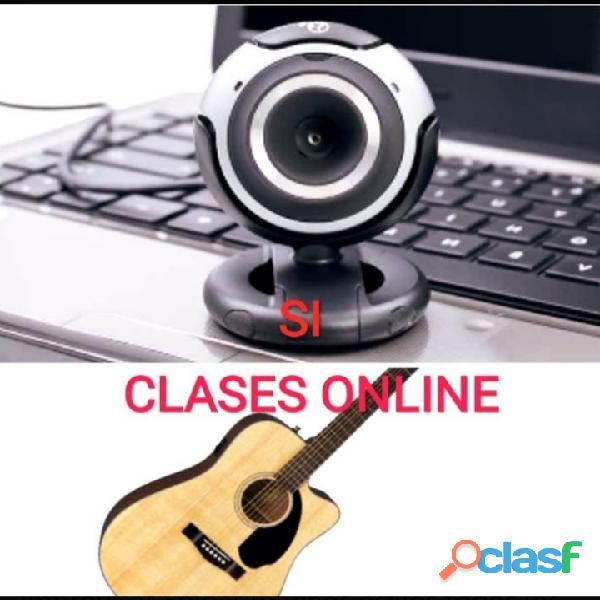 Super Clases Vocalización Guitarra ONLINE