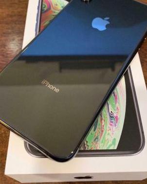 Apple iphone xs max (64gb) - gris espacial
