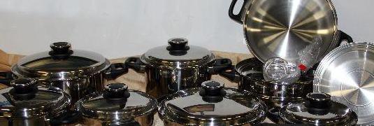 Batería de cocina acero inox nueva