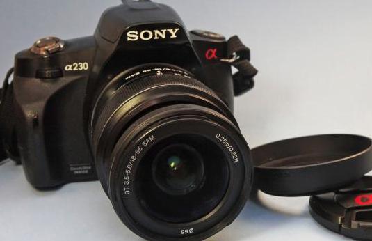 Cámara fotos reflex sony a-230