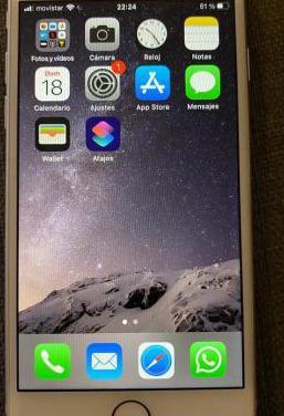 Iphone 8 de 64 gb blanco