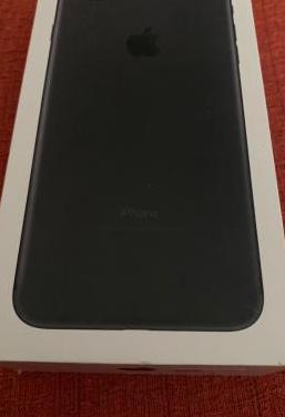 Iphone 7 plus 32gb, negro, como nuevo