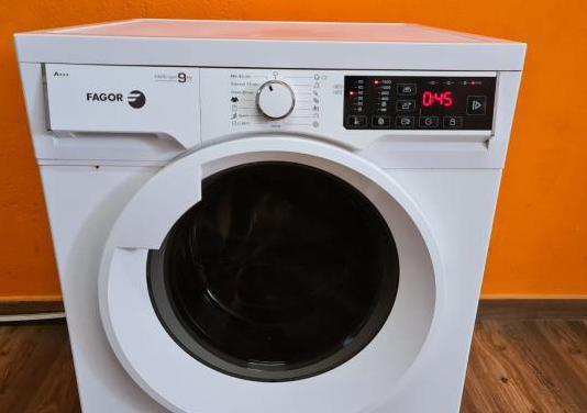Lavadora fagor de 9 kilos y 1400 rpm