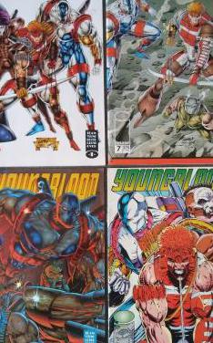 Lote comics youngblood
