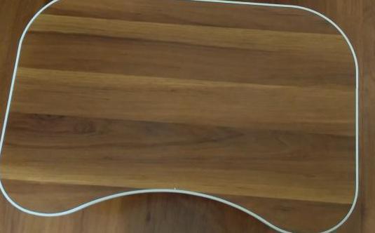 Mesa madera para portátil cama