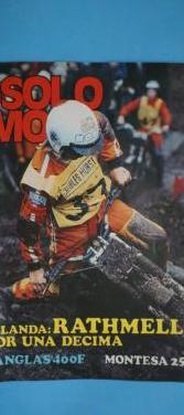 Revistas antiguas solo moto