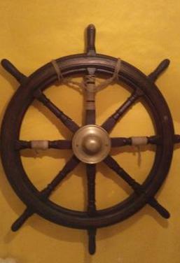 Timon de barco original de 120 cm
