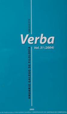 Verba. anuario galego de filoloxía